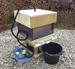 Steam Cleaning - Recyling and Reusing Hives