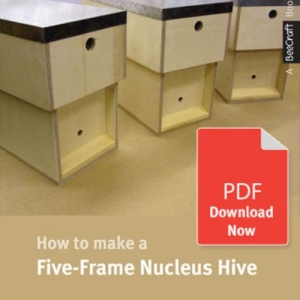How to Make a Five Frame Nucleus - Bee Craft Digital Download Booklet